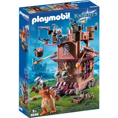 Playmobil 9340 Knights Mobile Dwarf Fortress with Shot Ballista