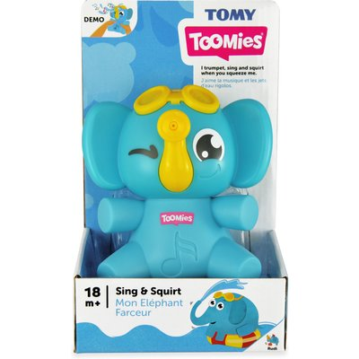Tomy Toomies Sing & Squirt Elephant Toy