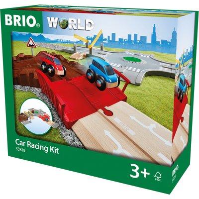 BRIO World Car Racing Kit