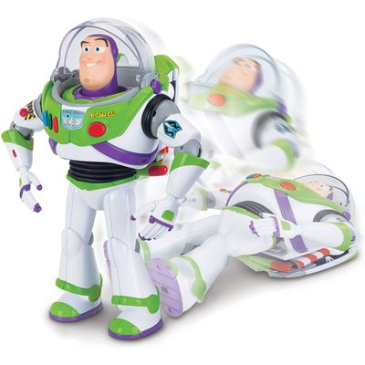 Toy Story 4 Buzz Lightyear w/ Interactive Drop-Down Action