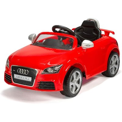 Audi TT Electric Ride-On - Red 6v