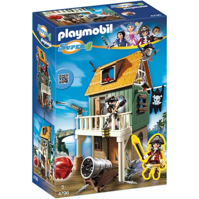 Playmobil Super 4 Camouflage Pirate Fort 4796