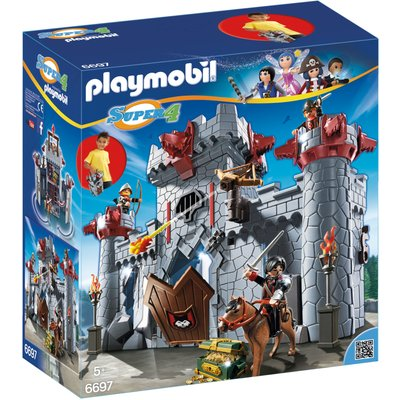 Playmobil Super 4 Take Along Black Baron's Castle 6697
