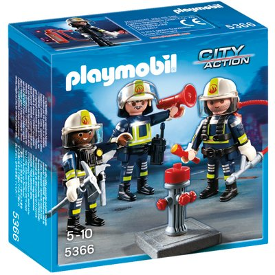 Playmobil Firemen Team 5366