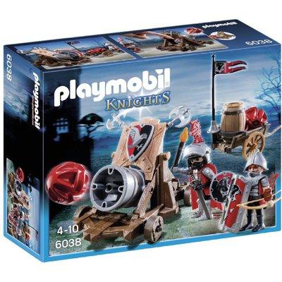 Playmobil Hawk Knights Battle Cannon 6038