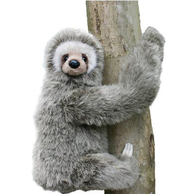 Hansa Toys 34cm 3-Toed Sloth Soft Toy