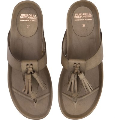 Fred de la Bretoniere-Sandals - Sandal Flip Flop Smooth - Green