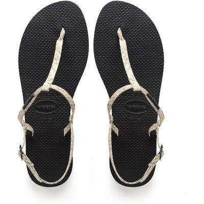 Havaianas-Flip flops - Flipflops You Riviera Croco - Beige