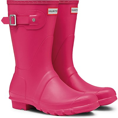 Hunter-Rain boots - Boots Original Short - Pink