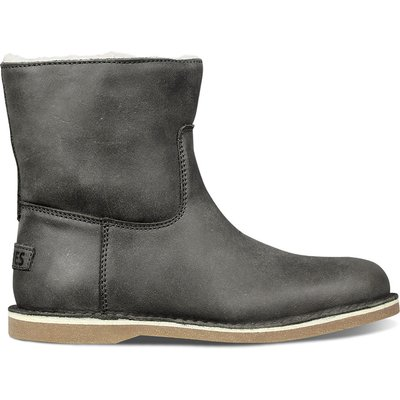 Shabbies-Boots - Ankle Boot Low Hand Buffed - Grey