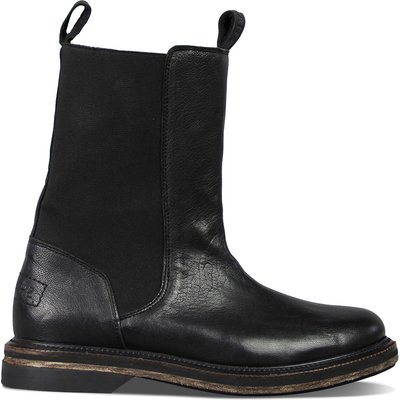 Shabbies-Boots - Ankle Boots Nappa - Black