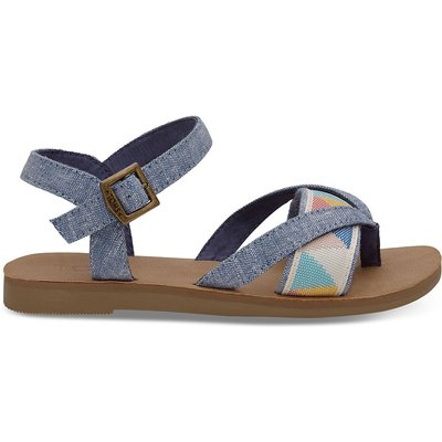 TOMS-Sandals - Lexie Sandal - Blue