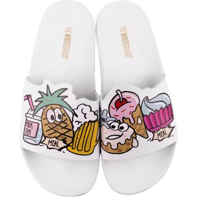 The White Brand-Flip flops - Ice Cream White - White