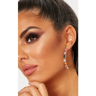 Multi Jewelled Hoops, Multi
