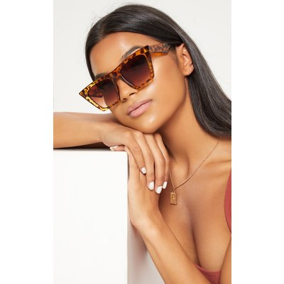 Leopard Angular Sunglasses, Animal