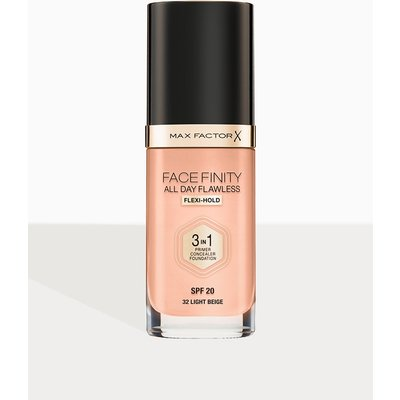 Max Factor Facefinity All Day Flawless Foundation Light Beige, Light Beige