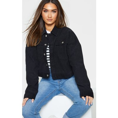 Black Cord Jacket, Black
