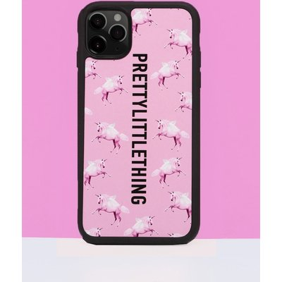 PRETTYLITTLETHING Unicorn Pink iPhone 11 Pro Case, Pink