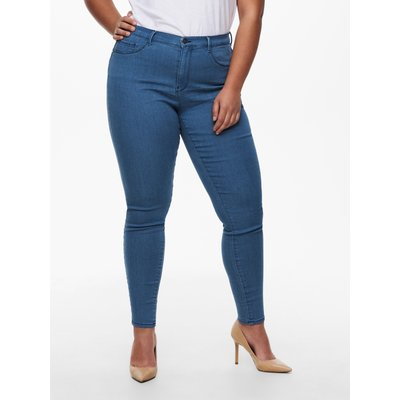ONLY Carmakoma Jeans 'Carstorm push up hw sk mbd noos'