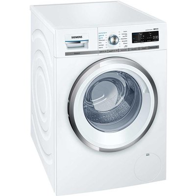Siemens WM14W750GB iQ500 Freestanding Washing Machine  9kg Load  A    Energy Rating  1400rpm Spin  White - 4242003732830
