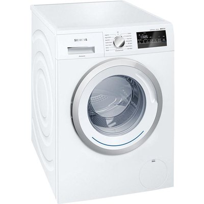 Siemens IQ300 WM12N200GB Freestanding Washing Machine  8kg Load  A    Energy Rating  1200rpm Spin  White - 4242003754412