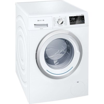 Siemens iQ300 WM14N200GB Freestanding Washing Machine  8kg Load  A    Energy Rating  1400rpm Spin  White - 4242003754429