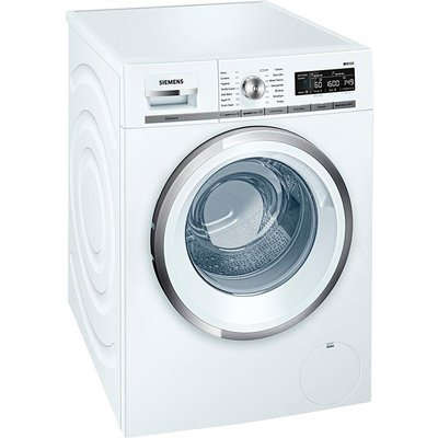Siemens WM16W590GB Freestanding Washing Machine  8kg Load  A    Energy Rating  1600rpm Spin  White - 4242003717240