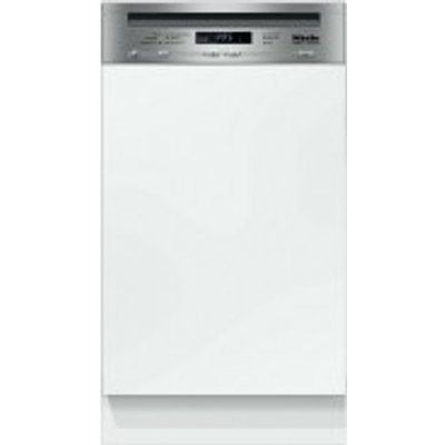 Miele G4720 SCi Semi Integrated Dishwasher  Clean Steel - 4002515693469
