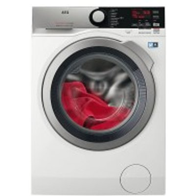 AEG 7000 Series L7WEE965R 9kg 6kg 1600 Spin Washer Dryer in White  with Chrome Door - 7332543558346