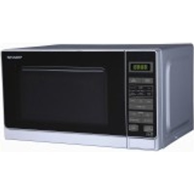 Sharp R272SLM   Compact 800w 20 litre Touch Control Microwave Oven - 4974019744537