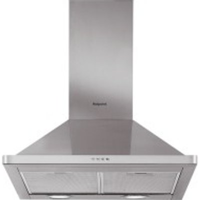 Hotpoint PHPN7 4FAMX 70cm Chimney Hood in Stainless Steel - 5016108949856