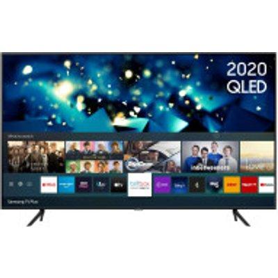 "QE50Q60T 50"" HDR 4K QLED TV with Alexa, Google & Apple TV app"