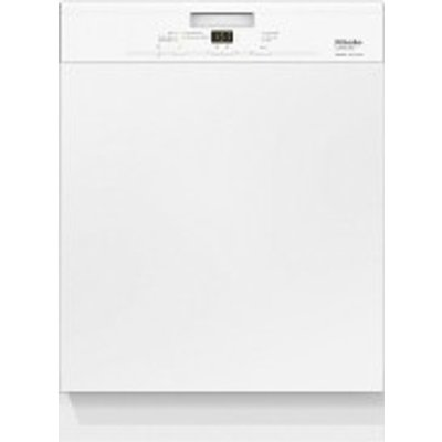 Miele Jubilee G4940SCi Semi Integrated 14 Place Dishwasher in White - 4002515774038