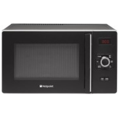 5016108899724: Hotpoint MWH2521BUK HD Line 25L Microwave in Black