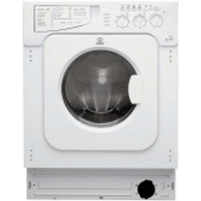 Indesit IWDE126 Integrated Washer Dryer - 8050147017418