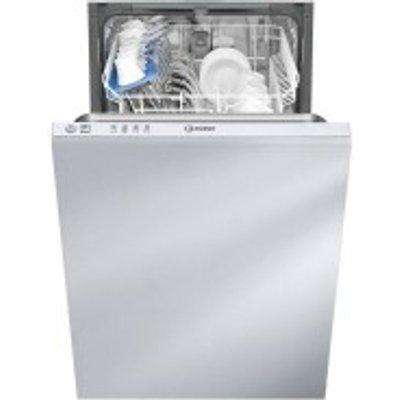 Indesit Ecotime DISR14B110 Place Slim Line Integrated Dishwasher - 8050147025734