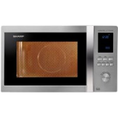 Sharp R982STM   Large Combination Microwave Oven in Stainless Steel - 4974019811666