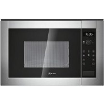 Neff H11WE60N0G Built In Microwave Oven  Stainless Steel - 4242004177401