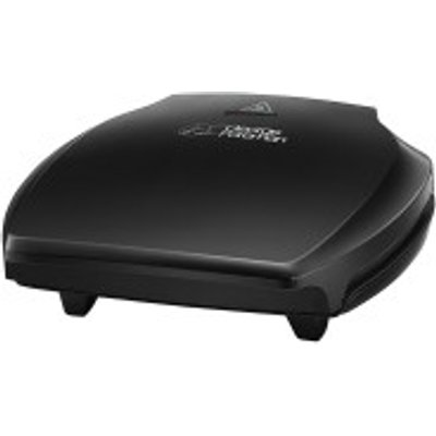 George Foreman 23420 5 Portion Grilling Machine in Black - 4008496874286