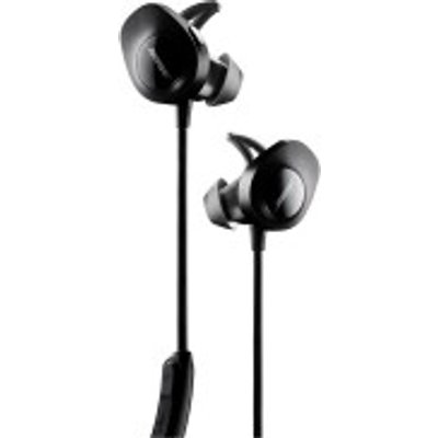 Bose   SoundSport Sweat   Weather Resistant Wireless In Ear Headphones With Bluetooth NFC  3 Button In Line Remote and Carry Case - 0017817731355