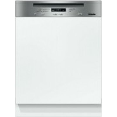 Miele G6620 SCi Semi Integrated Dishwasher  Clean Steel - 4002515693612