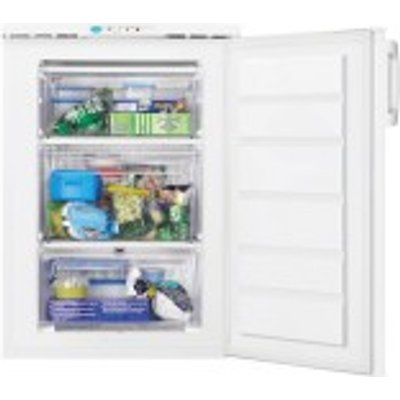Zanussi ZFT11112WE Freestanding Freezer  A   Energy Rating  60cm Wide  White - 7332543376315