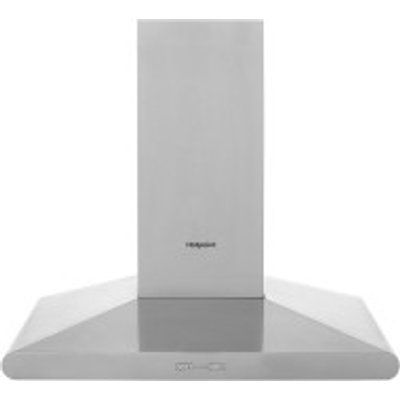 Hotpoint PHC7 7FLBIX Chimney Cooker Hood  Stainless Steel - 5016108949825