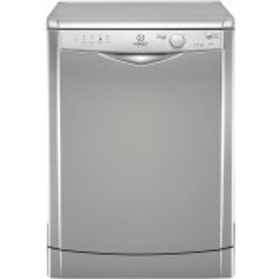 Indesit DFG15B1S Freestanding Dishwasher   Silver - 8007842832532