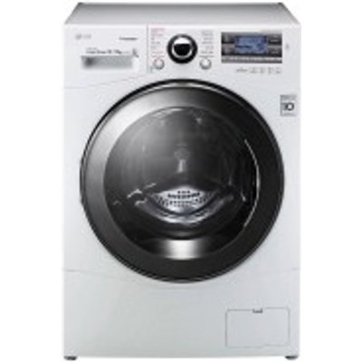 LG FH695BDH2N Freestanding Washer Dryer  12kg Wash 8kg Dry Load  A Energy Rating  1600rpm Spin  White - 8806087520859