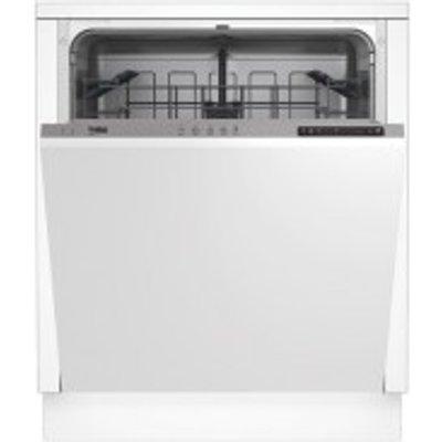 Beko DIN15211 Integrated Full Size Dishwasher  White - 5023790041713