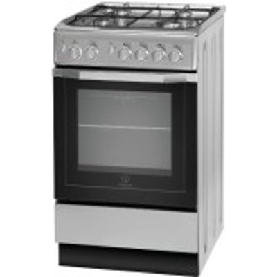 8007842884036 | Indesit I5GG1S Freestanding Gas Cooker  Silver