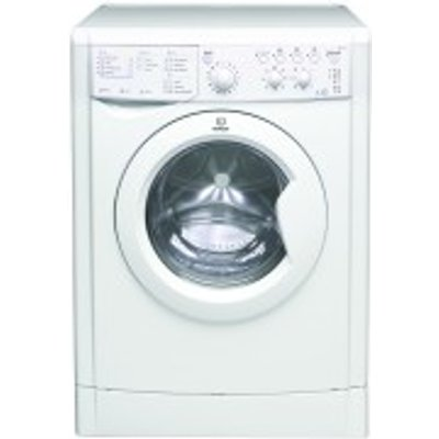 Indesit IWDC6125 Washer Dryer  6kg Wash 5kg Dry Load  B Energy Rating  1200rpm Spin  White - 8007842625059