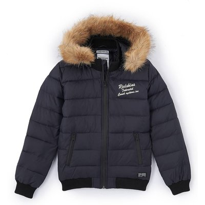 Hooded Padded Jacket, 10-16 Years