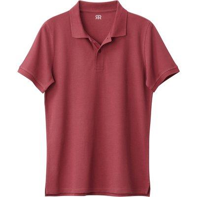 Cotton Polo Shirt, navy blue;white;dark khaki;burgundy red;black